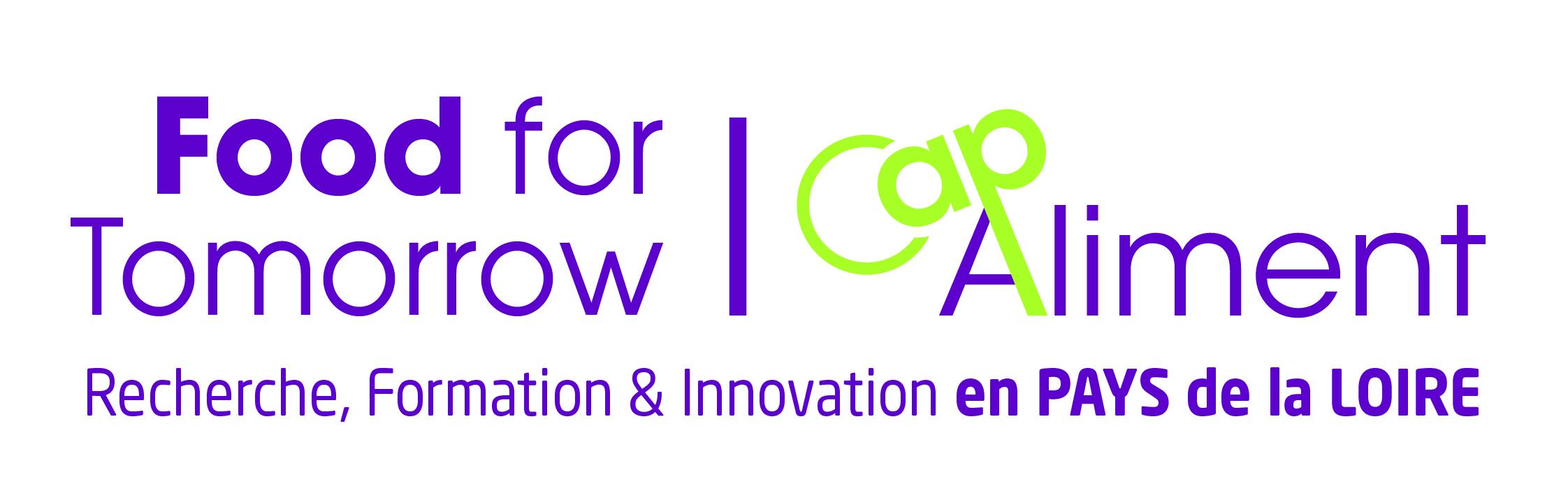 Food for Tomorrow. Cap Aliment. Recherche, Formation et Innovation en Pays de la Loire